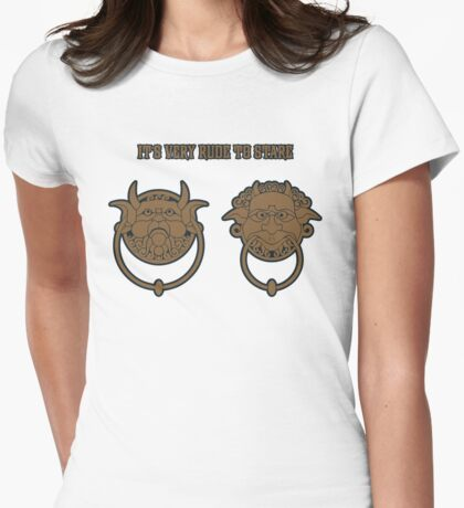 Nice Knockers 3 Womens Fitted T-Shirt