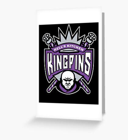 Kingpins Greeting Card