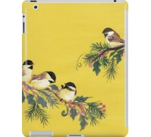 Chickadees from Amphai iPad Case/Skin