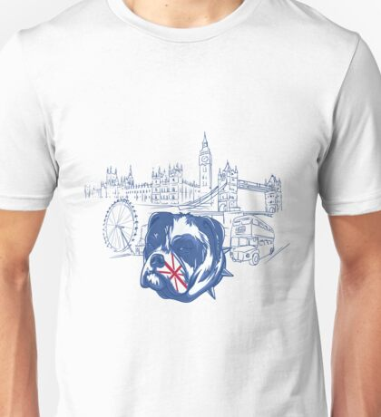 London dog Unisex T-Shirt