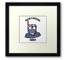 Harry Potter You're a Blizzard Harry - Harry Potter Wizard Framed Print