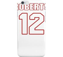 NFL Player Andre Roberts twelve 12 iPhone Case/Skin