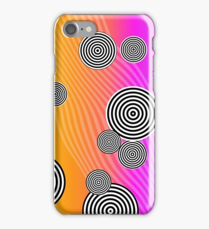 Back to the 80's by Julie Everhart iPhone Case/Skin