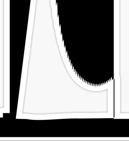 Bruder Klaus Logo - Zumthor Sticker