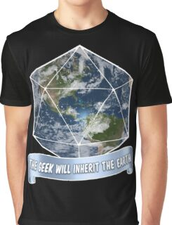 The Geek will inherit the Earth Graphic T-Shirt
