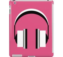Headphones in Fandango Pink iPad Case/Skin