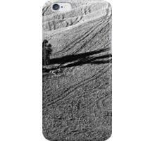 Twin tree tracks iPhone Case/Skin