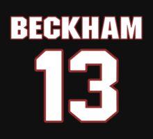 NFL Player Odell Beckham thirteen 13 by imsport