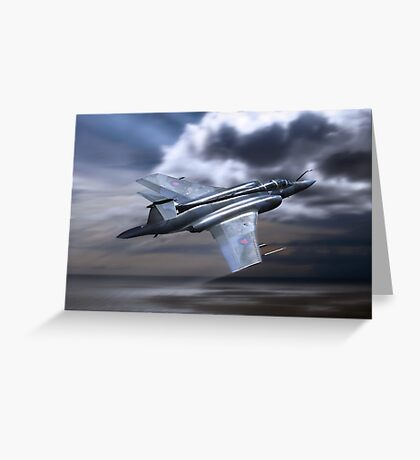 Royal Air Force Buccaneer Greeting Card
