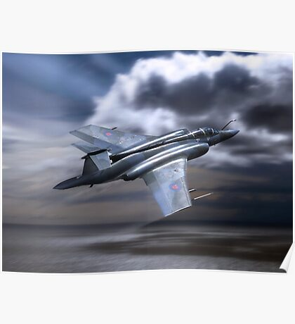 Royal Air Force Buccaneer Poster