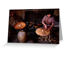 Parasol for you Ma'am? Greeting Card