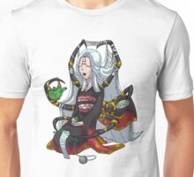 Knitting Spider Girl Yokai with Green Tea MONSTER GIRLS Series I Unisex T-Shirt