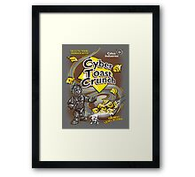 Cyber Toast Crunch Framed Print