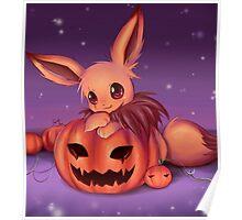 Pumpkin Field :: Eevee Poster