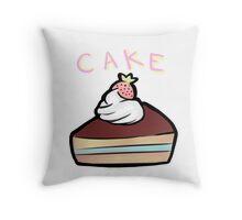 Cake Throw Pillow