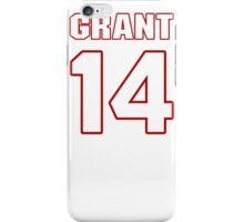 NFL Player Ryan Grant fourteen 14 iPhone Case/Skin