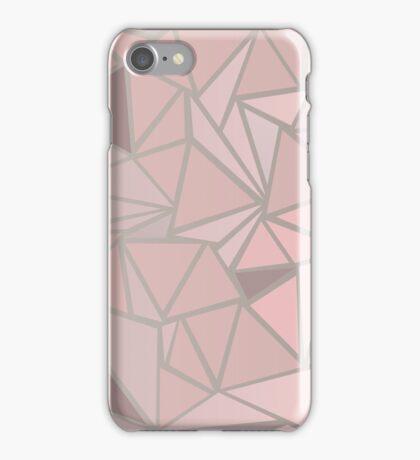 Rose Gold Pattern iPhone Case/Skin