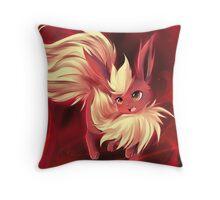Inferno :: Flareon Throw Pillow