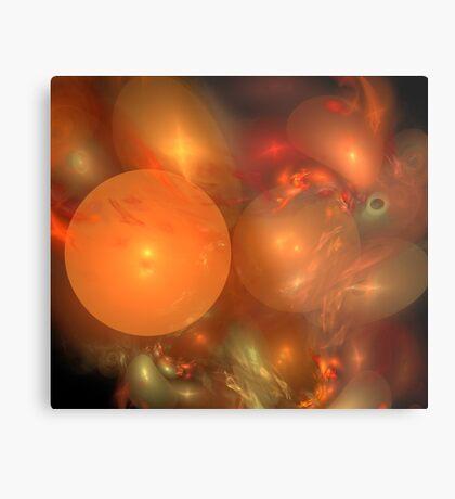 Red Orange Medley Metal Print