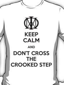 Dream Theater - Don't Cross The Crooked Step (Black) T-Shirt