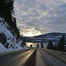 My favorite road ever. by Amanda Huggins