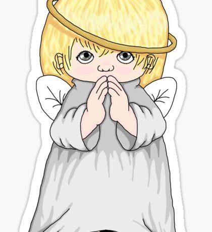 Precious Moments Angel Sticker