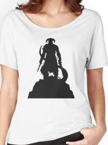Skyrim Pixel Dragonborn Women's Relaxed Fit T-Shirt