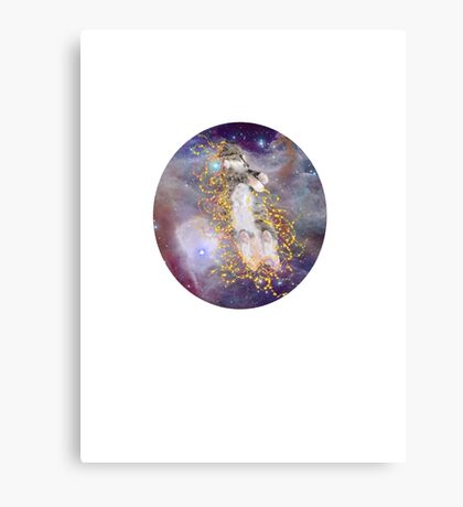 Space Kitten Redux Canvas Print
