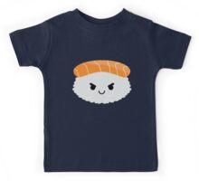 Salmon Sushi Emoji Naughty and Cheeky Kids Tee