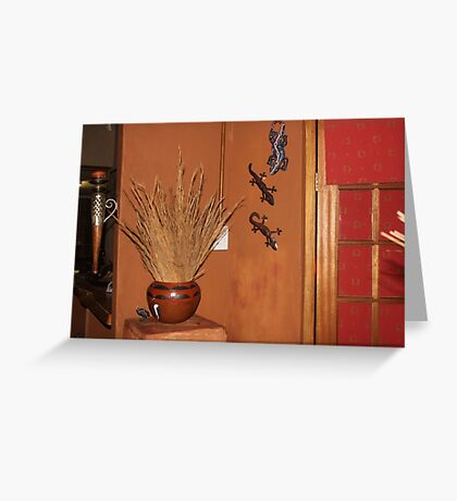 Bring Nature indoors Greeting Card
