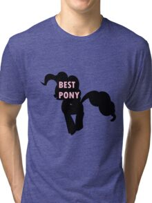 Pinkie Pie is Best Pony Tri-blend T-Shirt