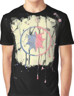 Watercolor Demoman logo in black Graphic T-Shirt