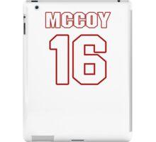 NFL Player Colt McCoy sixteen 16 iPad Case/Skin