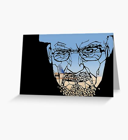 Breaking Bad- Shattered Trailer Greeting Card