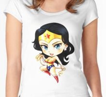 Wonder Women Women's Fitted Scoop T-Shirt