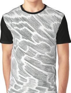 Abstract Stick Figure Graphic T-Shirt