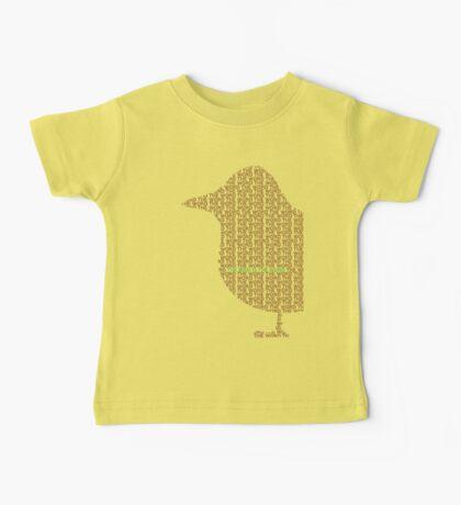 Bird is the Word Baby Tee