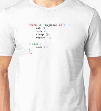 If do mode ON coding t-shirt Unisex T-Shirt