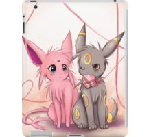 Valentines :: Espeon Umbreon iPad Case/Skin