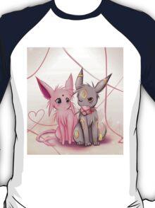 Valentines :: Espeon Umbreon T-Shirt