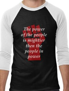 Protest - The Power of the People Men's Baseball ¾ T-Shirt