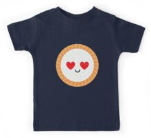 Salmon Maki Sushi Roll Emoji Heart and Love Eye Kids Tee