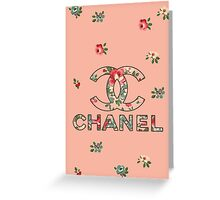 chanel Greeting Card