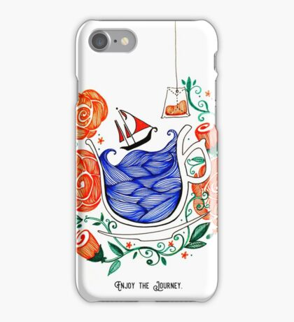 Set sail and enjoy your journey iPhone Case/Skin