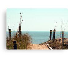 Beach-worthy Canvas Print