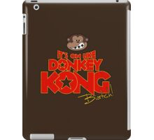 It's on like Donkey Kong! @#$%! iPad Case/Skin