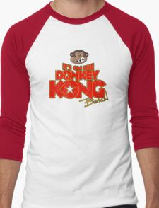 It's on like Donkey Kong! @#$%! Men's Baseball ¾ T-Shirt