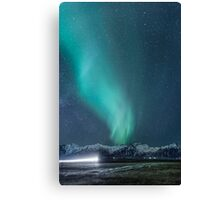 Flash In The Night Canvas Print