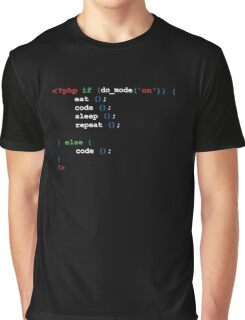 If do mode ON coding t-shirt  Graphic T-Shirt
