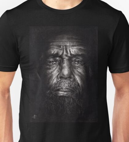 Philip - Drawing - Compressed Charcoal On Paper Unisex T-Shirt